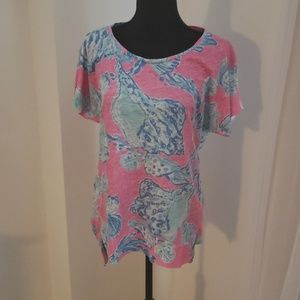 Lilly Pulitzer Linen Tee